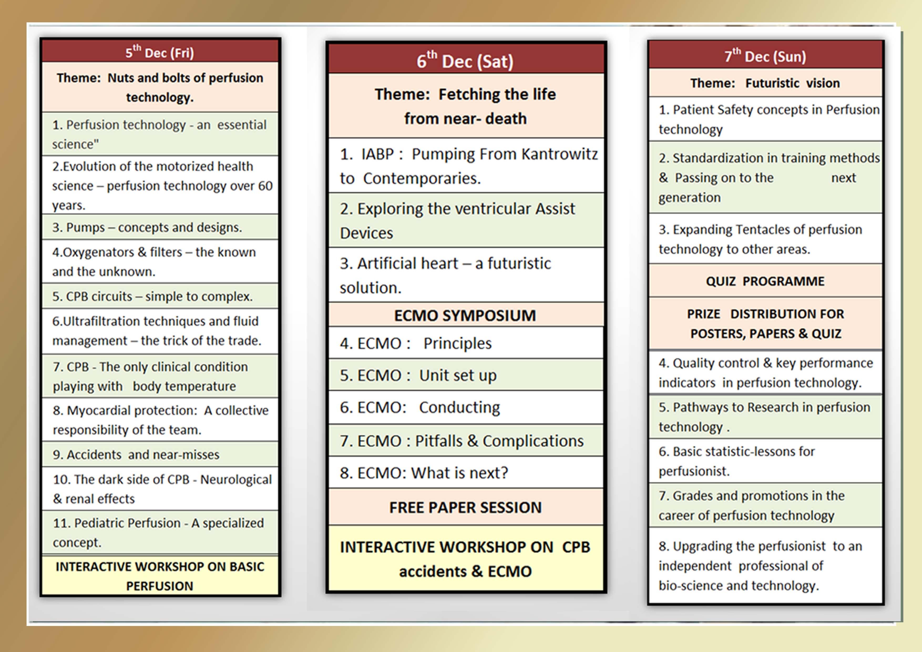 3. Perteccon Brochure - Academic schedule copy