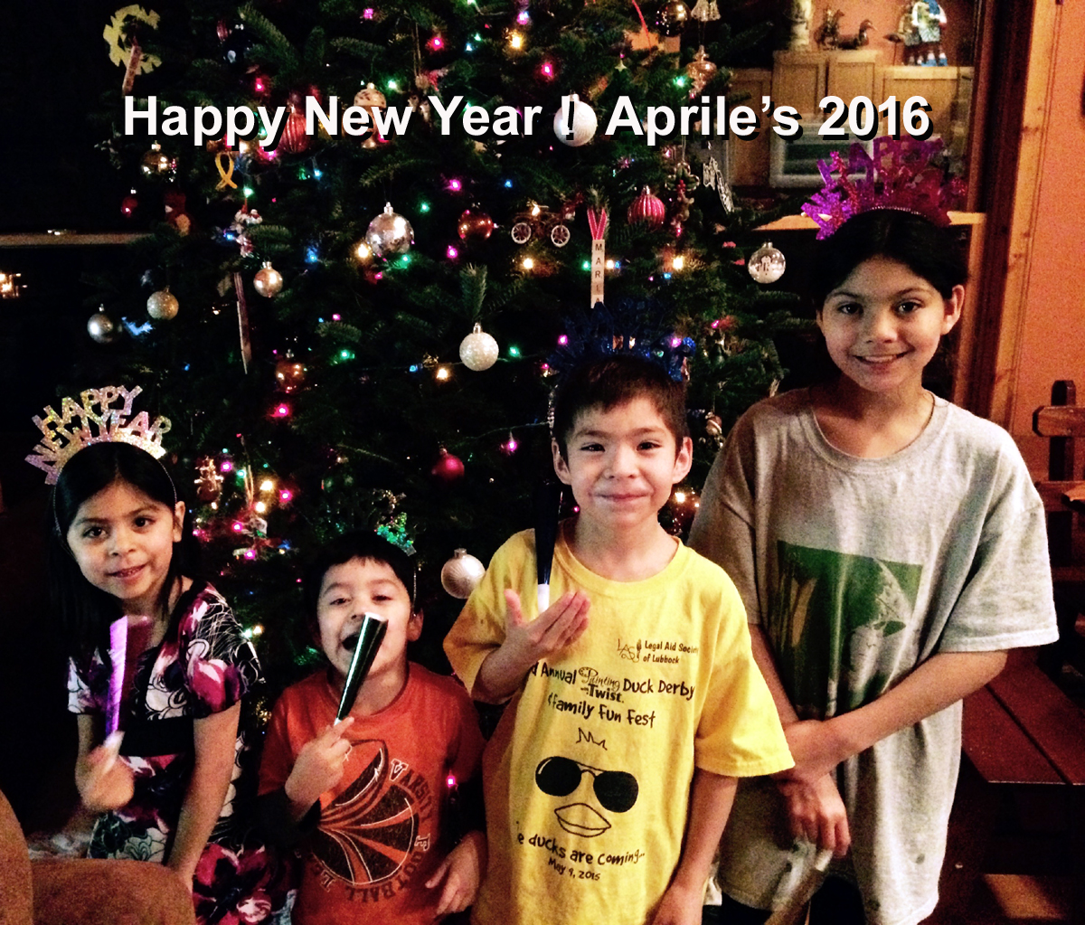 Aprile Kids New Year 2015