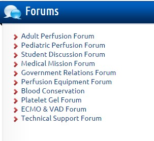 Sidebar Forums